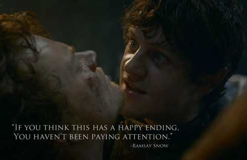 This is basically GRRM's love letter to his fans.